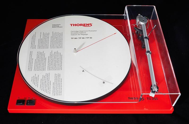 รีวิว Thorens : TD 203 - Turntable with Uni-Pivot Tonearm