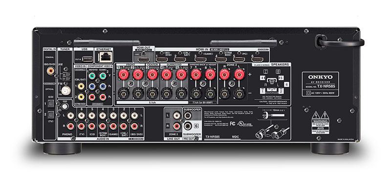 Onkyo TX-NR585, TX-NR686 Dolby Atmos, Hi-Res Audio Multiroom