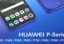 ไม่ได้มีแค่ 3 แต่มีถึง 8 รุ่นสำหรับ Huawei P Series ที่ได้รับการจดทะเบียนแล้ว