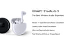 Huawei เปิดตัว Freebuds 3 หูฟัง True Wireless ตัดเสียงรบกวนมาพร้อมชิป Kirin A1