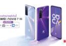 Huawei nova 7 สมาร์ทโฟนเกมมิ่งแรงจัดจ้าน ฟีเจอร์การถ่ายภาพครบครัน ตอบโจทย์คนรุ่นใหม่ในยุค 5G วางจำหน่ายแล้ววันนี้
