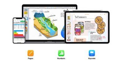 Apple update iwork suite support scribble in ios 14 ipados 14