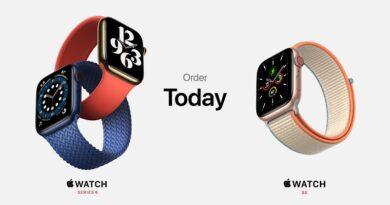 Apple Watch 6 Watch SE