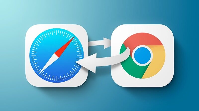 how to set google chrome default web browser in iOS 14 ipadOS 14