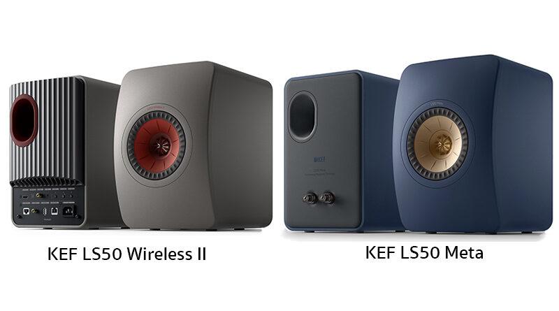 KEF LS50 Wireless II and LS50 Meta