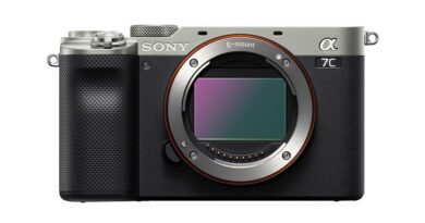 Sony a7C Full Frame Mirrorless camera