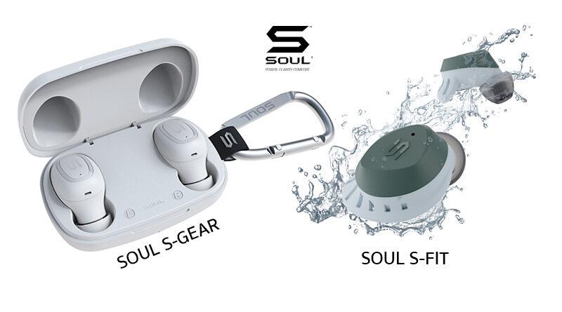 SOUL launch S-Fit S-Gear new true wireless earphones