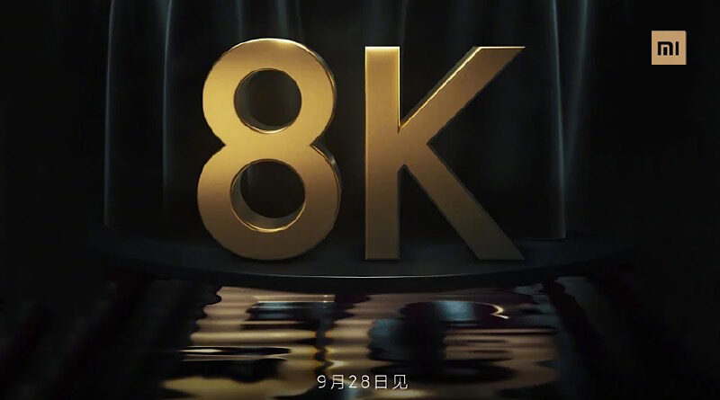Xiaomi plan to launch 8K 5G Smart TV