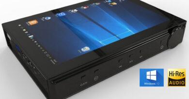 YinLvMei W1 World first Windows 10 hi-res audio portable player