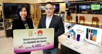 AIS Serenade x Huawei 5G strategic partner campaign