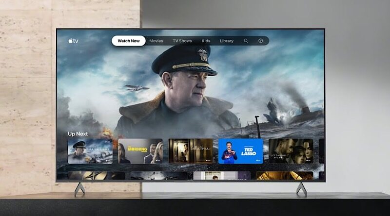 Apple TV app start available in sony smart tv