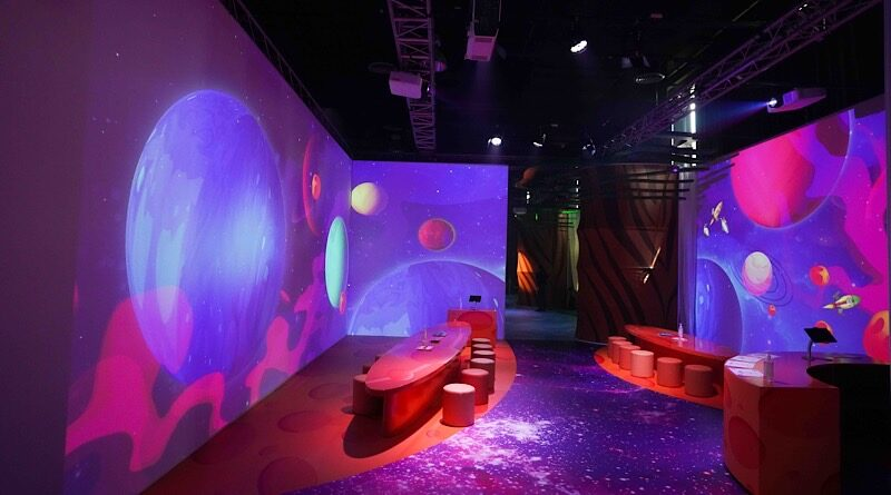 Epson tease laser projector at House of illumination