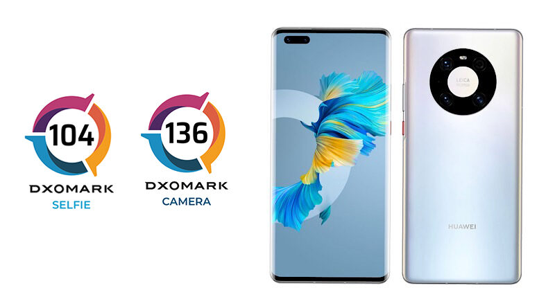 Huawei Mate40 Pro DXOMARK tested the best smartphone camera