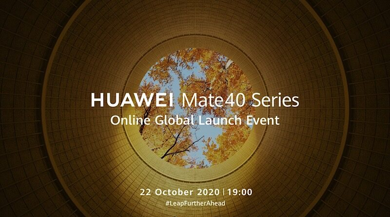 Huawei Mate40 series online global launching event