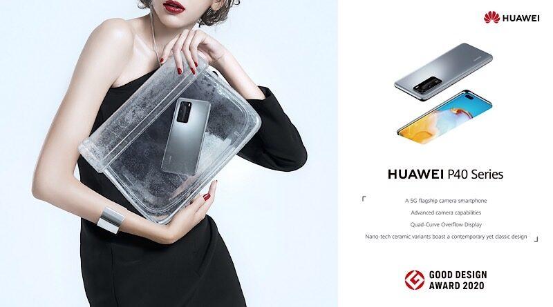 Huawei P40 series Good Design Award