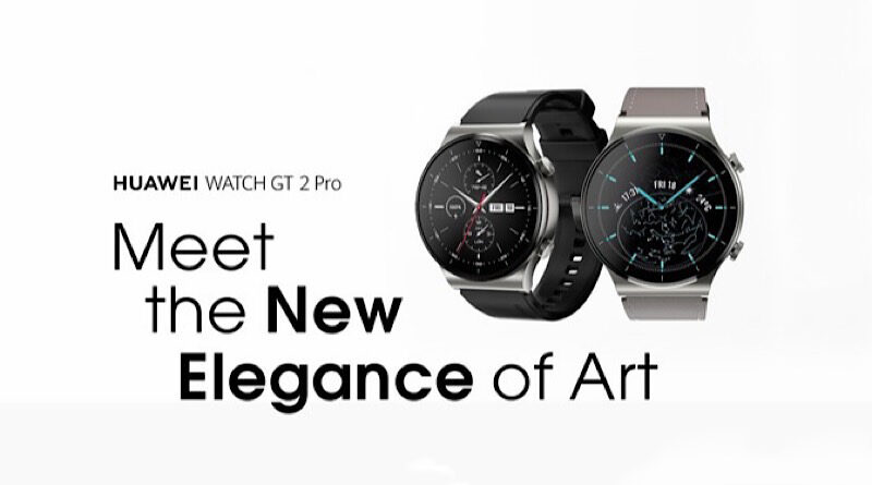 HUAWEI plan to launch new premium Watch GT2 Pro in Thailand
