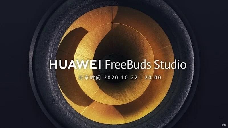 Huawei unveil FreeBuds Studio new wireless fullsize headphone