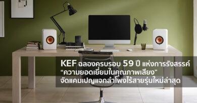 KEF give-away new LS50 Wireless II celebrates 59 years