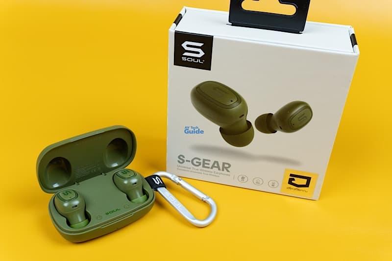 Review SOUL S-GEAR S-FIT true wireless earphones