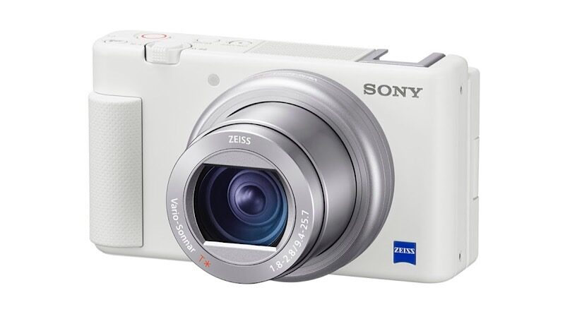 Sony introduce ZV-1 white edition compact camera pre-order ready on October 26