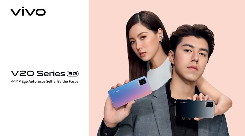 Vivo V20 Pro 5G world slimmest phone now available in Thailand