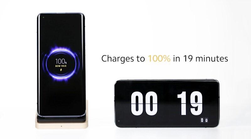 Xiaomi introduce 80W Mi wireless charging technology