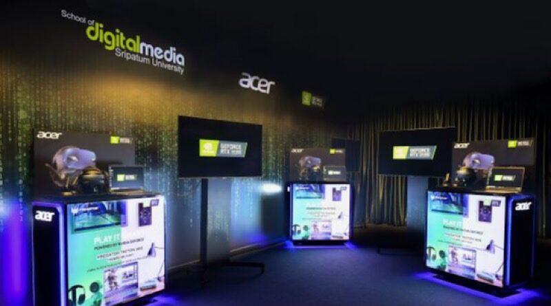 Acer x Nvidia built up Digital Content Hub