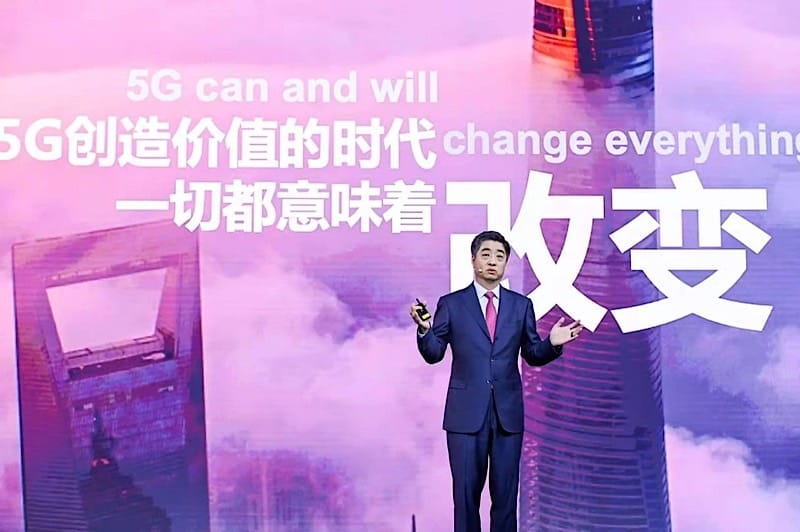 HUAWEI Ken Hu vision 5G creates new value for industries and new growth opportunities
