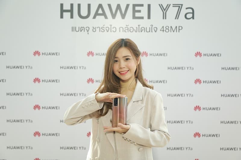 HUAWEI launch new Y7a and Watch GT2 Pro