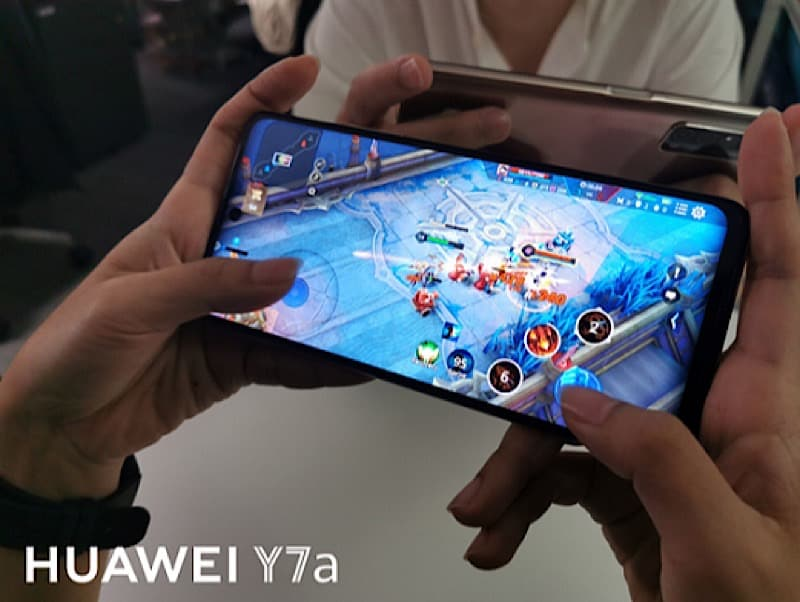 HUAWEI tease reasons why game lover are into Y7a