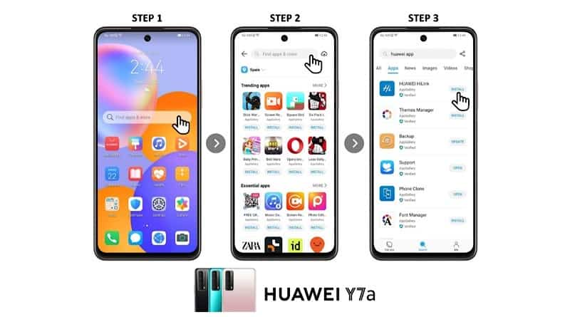 HUAWEI tease Y7a budget smartphone for full entertainment