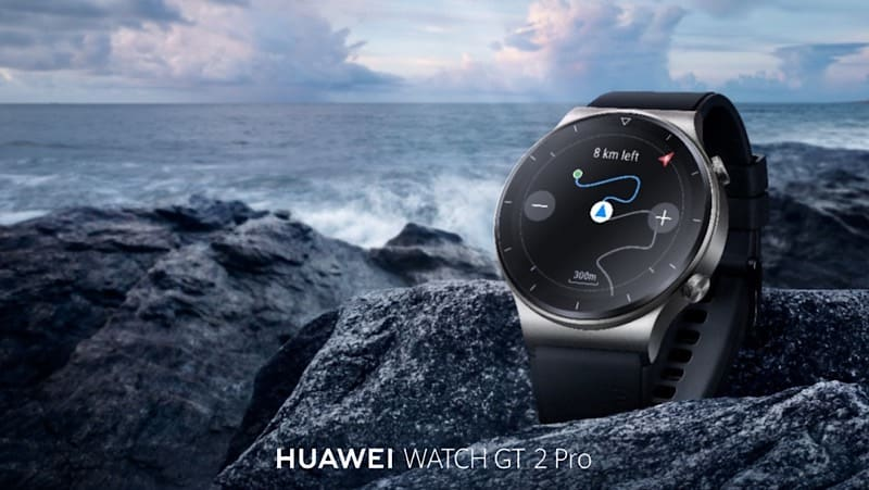 HUAWEI Watch GT2 Pro from day to night