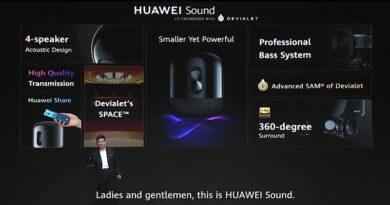 HUAWEI x Sony Select brings hi-res audio experience to HUAWEI Sound wireless loudspeaker