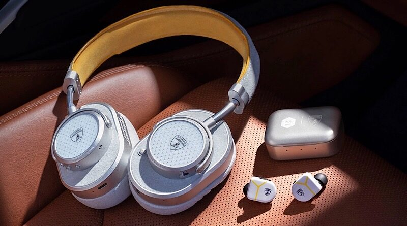 Master & Dynamic launch Automobili Lamborghini collection wireless headphone and TWS