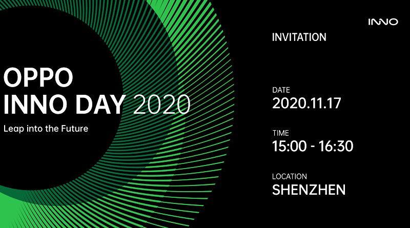 OPPO tease OPPO INNO DAY 2020