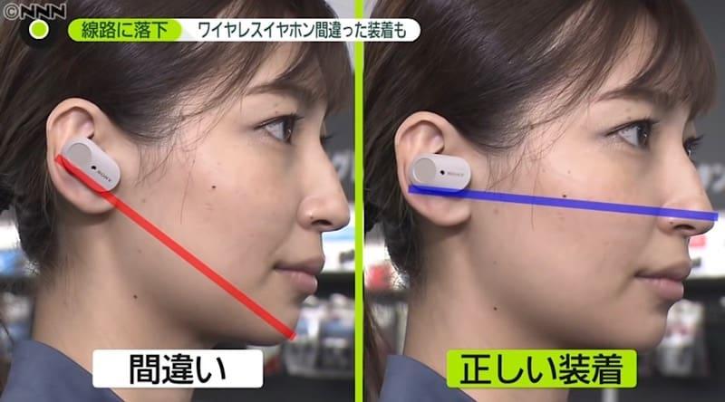 Panasonic design small objects picker solve fallen wireless earphones problem