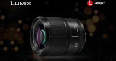 Panasonic launch new Lumix-S 85mm lens