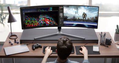 Samsung introduce QLED gaming monitor