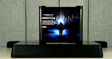 TCL unveil horizontal rollable OLED TV