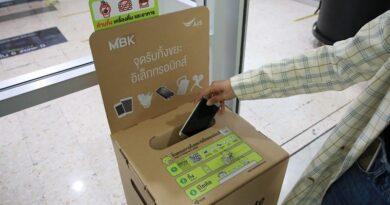 AIS x MBK gain more e-waste receive service