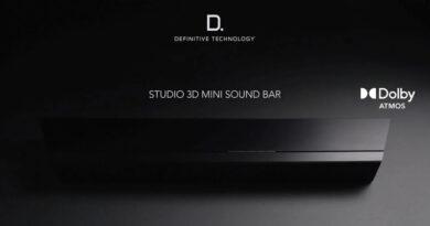 Definitive Technology launch Studio 3D Mini new compact Dolby Atmos soundbar