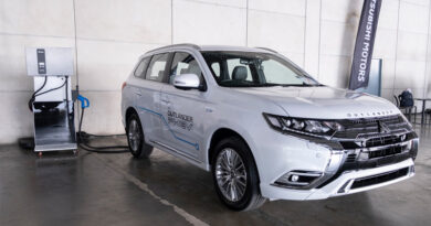 Delta showcases AC EV charger support Mitsubishi Outlander PHEV