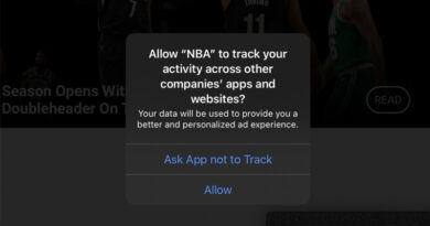 iOS 14 new user privacy focused tracking prompt appearing