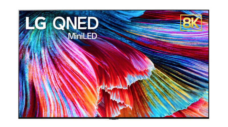 LG unveil new QNED TV quantum dot lcd with Mini-LED backlight