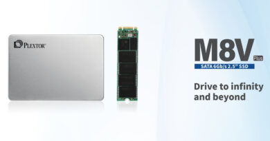 Plextor unveils new M8V Plus series solid states drives