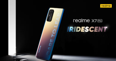 realme X7 Pro official launch in thailand