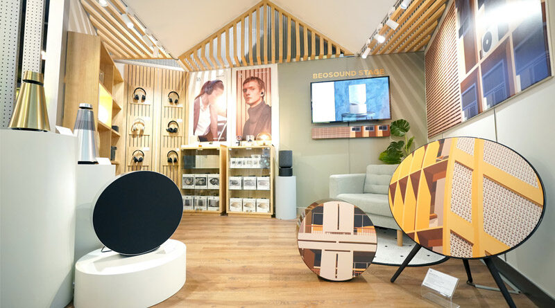 RTB x BeTrend target luxury smart home audio Bang&Olufsen Shop in Shop
