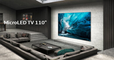 Samsung unveil new 110 inches MicroLED TV for consumer