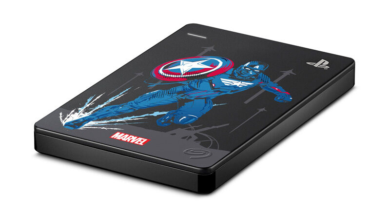 Seagate introduce game drive for ps4 marvel
