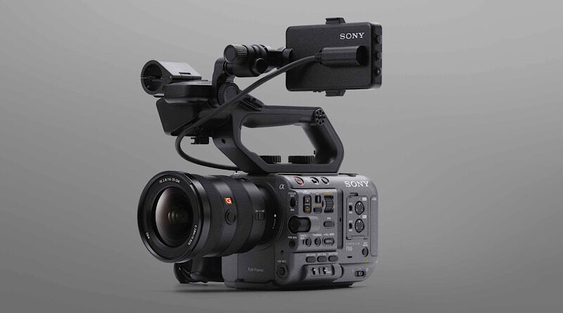 Sony introduce FX6 first full-frame professional camera